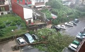 Activado el plan de emergencias ante el riesgo de inundaciones en Gipuzkoa