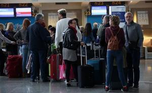 El tráfico de pasajeros en 'La Paloma' creció un 13% en mayo