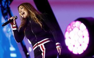 Amaia Montero echa la culpa de su «desastroso» concierto en Cantabria a los «problemas de sonido»