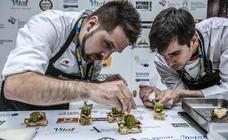 Quince chefs logran un puesto en la final de la Semana Grande del Pintxo de Álava