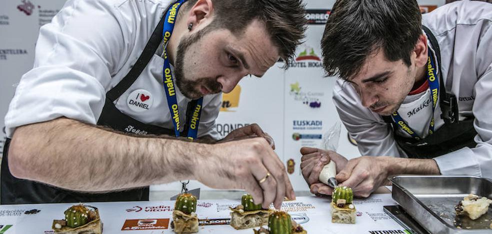 Quince chefs logran un puesto en la final de la Semana del Pintxo de Álava