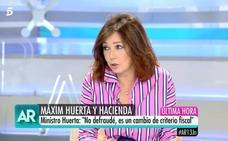 Ana Rosa defiende a Huerta: «Es algo que hacían muchos compañeros»