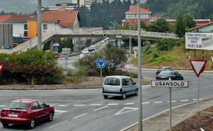 Concentraciones simultáneas en Usansolo y Legutiano denuncian el riesgo de la N-240