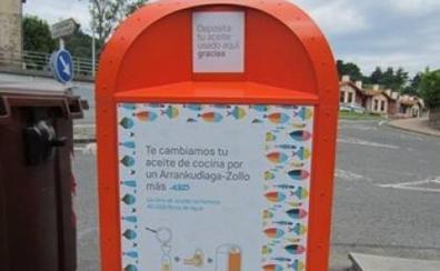 La oficina comarcal sostenible quiere incrementar un 20% el reciclaje de aceite