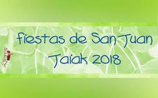 Programa de fiestas de Agurain 2018: San Juan Jaiak