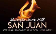 Programa de fiestas de Muskiz 2018: San Juan Jaiak