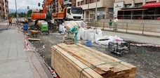 El centro de Berango permanecerá cerrado al tráfico por obras durante mes y medio