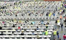 La OPE de Osakidetza, en marcha: «Si entro en listas, va bien»