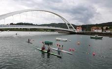 El subcampeón de Francia de kayak domina en Plentzia