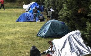 Un sindicato policial advierte de que Euskadi puede convertirse «en un nuevo Calais» por la avalancha de inmigrantes