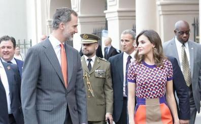 Los Reyes se adentran en el antiguo Nueva Orleans español