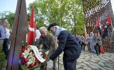 El recuerdo de los gudaris y milicianos vuelve a Artxanda
