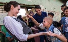 Angelina Jolie visita Mosul