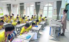 Espías en las aulas chinas