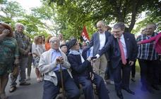 Homenajean en Artxanda a los gudaris y milicianos de la Guerra Civil