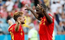 Bélgica cumple el trámite ante Panamá con más pegada que brillo