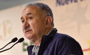 Pepe Álvarez defiende el papel de UGT en el acto de Cambo