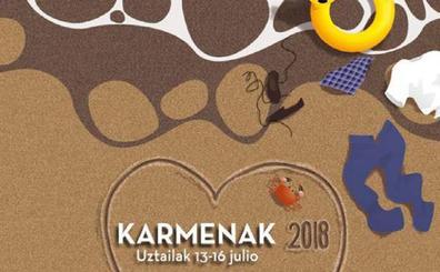 Programa de fiestas de Los Carmenes 2018 en Sopela
