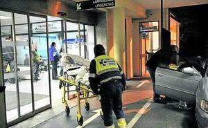 A puñetazos en Urgencias de Txagorritxu