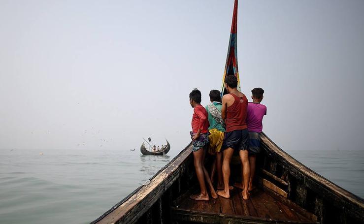 Pescar en aguas turbulentas