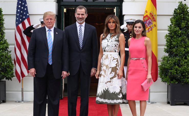 Los Reyes visitan la Casa Blanca