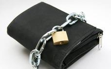 Apriete su cartera ¡Con las dos manos!