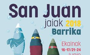 Programa de fiestas de Barrika 2018: San Juan Jaiak