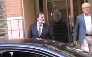 Rajoy vuelve al trabajo: hoy se reincorpora al registro de la propiedad en Santa Pola