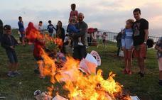 Getxo programa tres hogueras por San Juan y prohíbe las fogatas en Arrigunaga