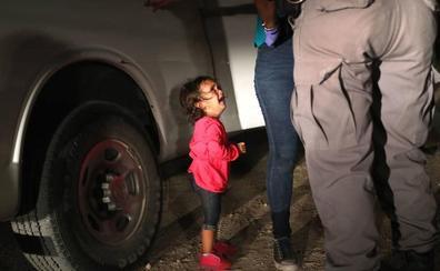 Lloros infantiles contra Trump