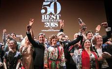 Etxebarri y Mugaritz se mantienen entre los diez mejores restaurantes del '50 Best'