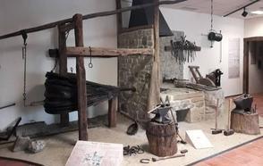Zeberio recupera su pasado de herrerías con la apertura de un museo