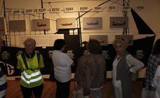 Una exposición repasa la historia de la carpintería naval en el Museo Marítimo