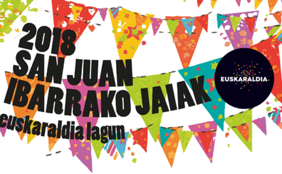 Programa de fiestas de Gernika 2018: San Juan Ibarrako Jaiak