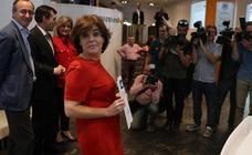 La terna a suceder a Rajoy exhibe músculo en una batalla que divide al PP