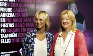 Ana Urrutia anima a las vizcaínas a blindarse contra las agresiones sexistas en fiestas