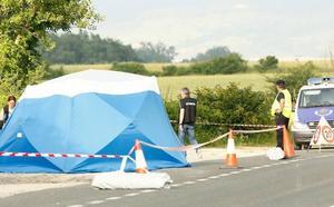 Un camionero deja el cadáver de una joven alemana en Egino