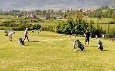 Un campeonato europeo reúne este fin de semana a sesenta golfistas en Orduña