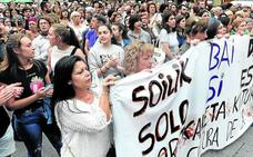 Las mujeres no se callan: 'La Manada' sale hoy en libertad entre nuevas protestas