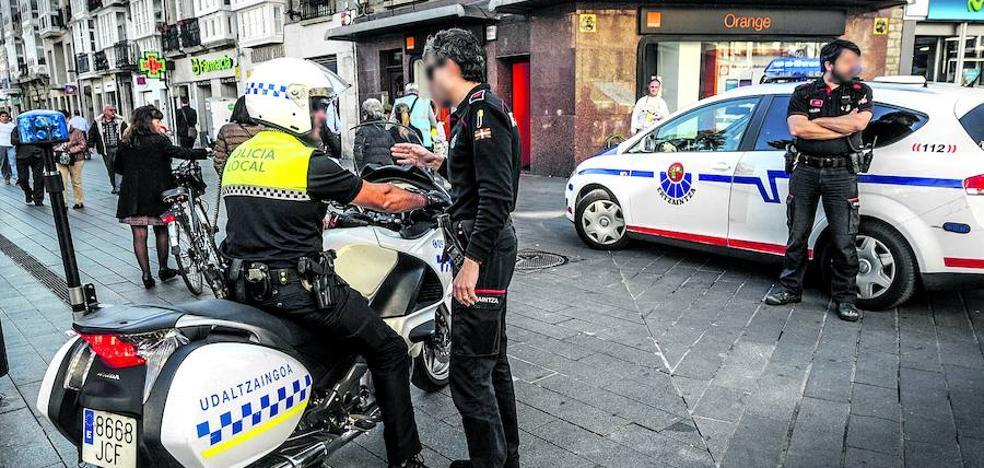 Policía Local y Ertzaintza se coordinarán para mejorar la respuesta ante el delito en Vitoria