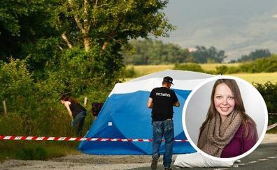 La Guardia Civil detuvo al presunto asesino de la joven alemana cuando quemaba la cabina de su camión