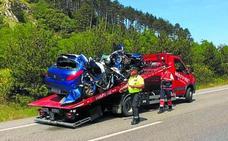 Fallece un párroco guipuzcoano al chocar con un camión en Navarra