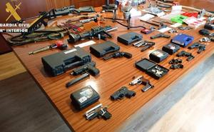 Detenido en Álava por fabricar y manipular armas y explosivos