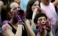 España se echa a la calle para protestar por la puesta en libertad de 'La Manada'