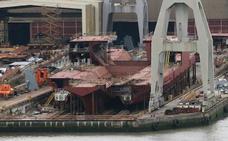 El lehendakari advierte que la situación de La Naval de Sestao «es muy complicada»