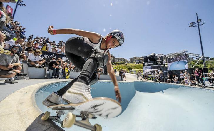 'La Kantera Invitational', la competición internacional de skate que se celebra en Getxo