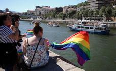 Festival Pride 2018: La ría de Bilbao se vuelve arcoíris