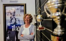 La única presidenta de un club de fútbol vizcaíno categoría nacional abandona el cargo