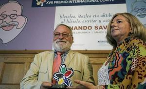 Savater afirma que «se está pergeñando un Estatuto que convierte en Ley los objetivos de ETA»