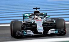 Hamilton gana en Francia y recupera el liderato del Mundial
